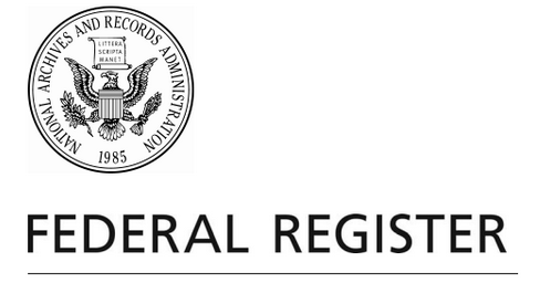 Fed Register Logo
