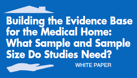 Title for AHRQ Building PCMH Evidence Base Whitepaper