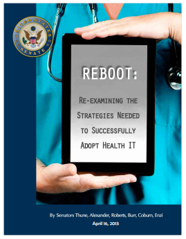 Cover of Reboot Meaningful Use Report