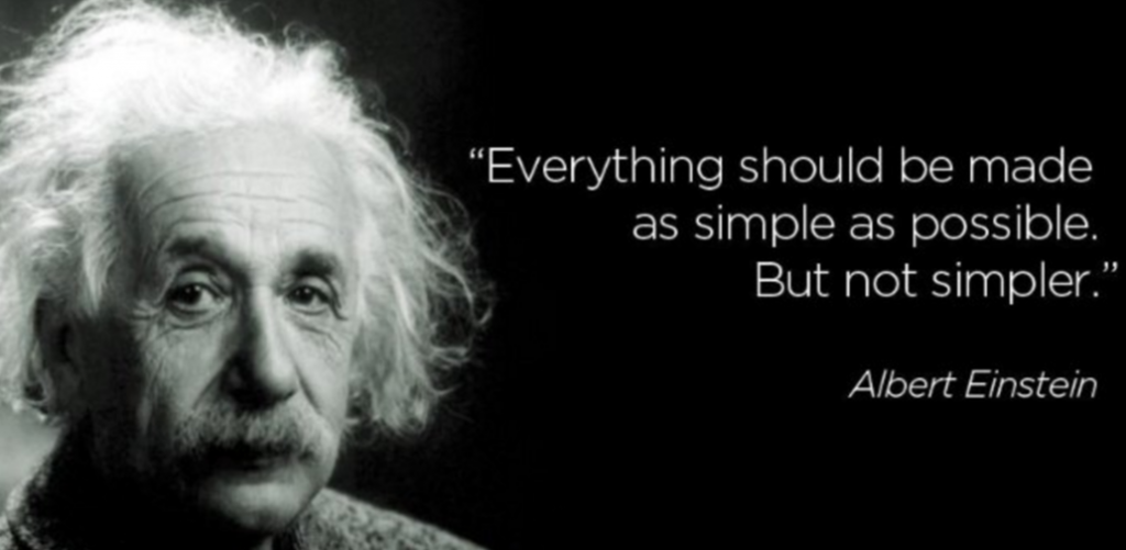 Einstein Simplification